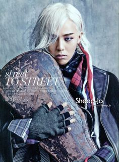 Vogue Korea   ... From G-Dragon's Incredible Vogue Korea 17th Anniversary Editorial