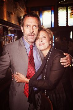 Hugh Laurie & Emma Thompson August 2010. Thompson receives her Hollywood Star