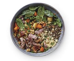Parisian Grain Bowl with Lentils and Duck Confit Recipe