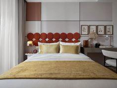 牧笛 | 万科 莱茵半岛 上海叠墅样板间 Bed Headboard Design, Headboards For Beds, Magazine Design, Kids Bedroom, Editorial Fashion, Pure Products, Children, Modern, House