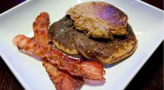 Beyond Cereal: 5 Painless Paleo Breakfasts For Busy Moms Banana Nut Pancakes, Pancakes And Bacon, Butter Pancakes, Breakfast Options, Paleo Breakfast, Breakfast Recipes, Desayuno Paleo, Recipe For Mom, Convenience Food