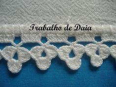 Photo: Work nº 22 - Dish cloth with crochet hook. Crochet Doily Rug, Crochet Dishcloths, Cotton Crochet, Crochet Trim, Crochet Gifts, Crochet Yarn, Crochet Flowers, Crochet Stitches, Crochet Hooks
