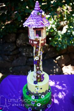 Tangled birthday party - decor, favors, food, cake, etc