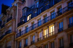 """Leave a Light On - Lights on in the buildings of Rue de la Paix, Paris, France.  See more photos from the streets of Paris and order prints at <a href=""""http://www.jasonwaltman.com/galleries/20130523-Paris/"""">jasonwaltman.com</a>."""