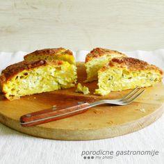 four-cheese filo pie