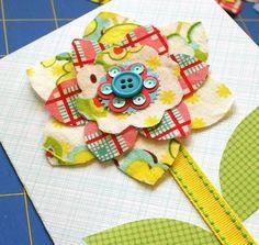 mmmcrafts: make a flower card for mom