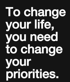 Priorities… What are yours at the moment? | Making Things Easy