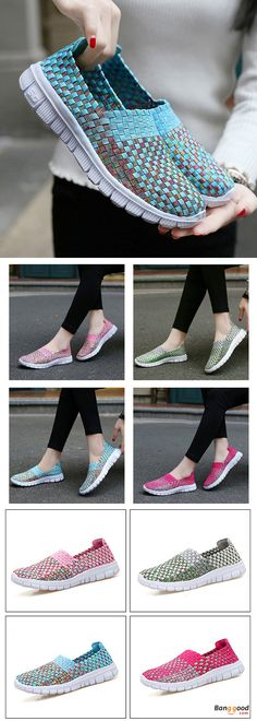US$22.87 + Free shipping. Size(US): 5~9. Flat Shoes, Shoes for Women, Outdoor Athletic Shoes, Womens Fashion, Womens Shoes, Summer Outfits. Color: Gray, Bule, Rose Red, Pink. Upper Material: Knitting.