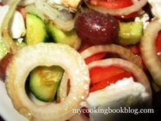 Гръцка Салата (Ελληνική σαλάτα) - основен вариянт