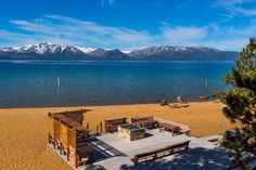 465 Lakeview Ave in Elks Point, Walk to Beach    Lake Tahoe