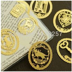 Find More Bookmark Information about Vintage oval gold cat/eiffel tower/bird/key/rabbit/key/clver/deer bookmarks clips for girls/wedding gifts,cute paperclips,High Quality Bookmark from Best Greeting Shop on Aliexpress.com