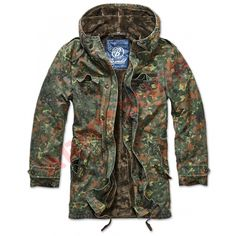 0ed0097c4d8f8 BW PARKA BRANDIT, BW CAMO Military Field Jacket, Tactical Clothing,  Tactical Gear,