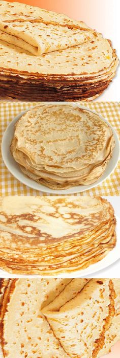 How to make crepes - Crepe ideas - Easy Cooking, Cooking Recipes, Crepes Masa, Delicious Desserts, Yummy Food, How To Make Crepe, Banana Pudding Recipes, Deli Food, Crepe Recipes