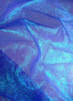 Moonglow Iridescent Crinkle Organza Fabric, Purple Burst - by the yard Iridescent Fabric, Ceiling Draping, Lavender Aesthetic, Frozen Costume, Cool Backgrounds, Fabric Manipulation, Crinkles, Event Decor, Psychedelic