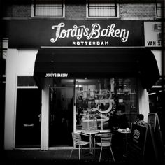 Mooie signing bij Jordy's Bakery Rotterdam