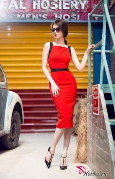 Đầm Ôm Body Đỏ Viền Đen Ngọc Trinh Hở Lưng Sexy 320k http://www.hotbid.vn/ho-chi-minh/thoi-trang/dam-om-body-do-vien-den-ngoc-trinh-ho-lung-sexy-10-257.html