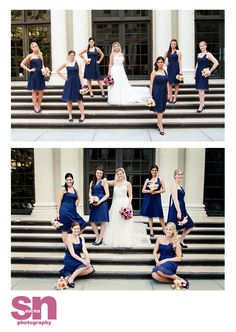 I wanna try the top one on the stairs at the beach after the wedding.
