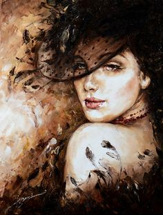 Peinture Kobieta - L