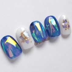 Heat Up Your Life with Some Stunning Summer Nail Art Korean Nail Art, Korean Nails, Asian Nail Art, Minimalist Nails, Stiletto Nail Art, Toe Nail Art, Nail Swag, Asian Nails, Kawaii Nails