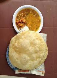 Halwa Puri #food #traditional