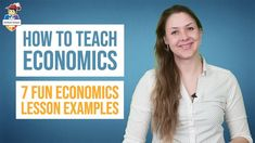 Learn how to teach economics in a fun way. Here are 7 fun economics lesson examples economics teachers can use right away. In this video, you'll also learn h. Economics Humor, Economics Quotes, Teaching Economics, Economics Lessons, Lesson Plan Examples, Lesson Plans, School Worksheets, School Resources, Understanding Economics