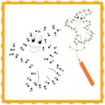 Halloween Printable Dot-to-Dot Ghost and Halloween Song for Kids!