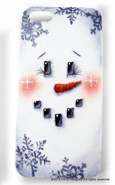 Call Me Frosty iPhone Cover E-Pattern