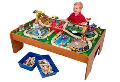 KidKraft Ride Around Train Set and Table Review