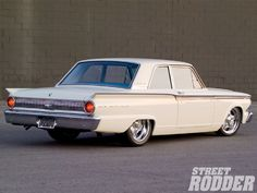 1962 Ford Fairlane - Wolf In Grandma's Fairlane - Street Rodder Magazine