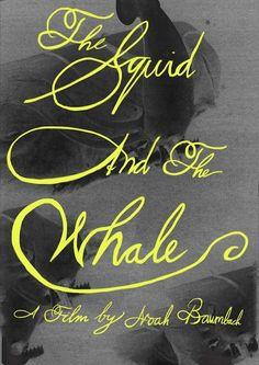 The Squid and the Whale by Ryan Asher McShane Minimal Movie Posters, Film Posters, Noah Baumbach, Art Pass, Ingmar Bergman, We Movie, Film Stills, Cover Design, Illustrations Posters