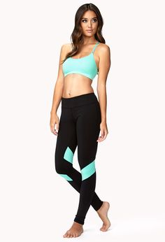 Colorblocked Run Leggings Get 4% cash back http://www.studentrate.com/all/get-all-student-deals/Forever21-Student-Discounts--/0