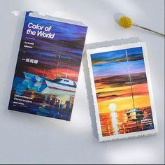 """Art World"" 30 Pcs Mixed Postcards Set Postcard Lot Beautiful Painting Bookmark"