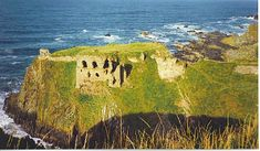 Findlater Castle, Findlater Castle sits in a romantic position on a 50-foot (15 m)-high cliff overlooking the Moray Firth on the coast of Banff and Buchan, Aberdeenshire, Scotland