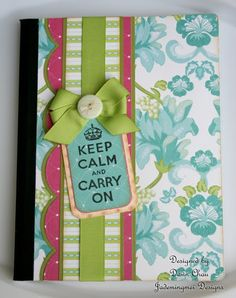 "** Altered Composition Journals  ""Keep Calm..""    @jademingmeidesigns"