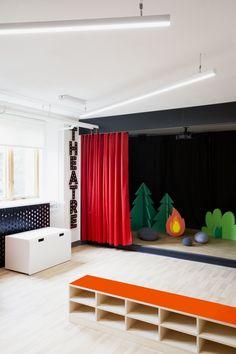 Académie Sainte-Anne Academy - école primaire / elementary school - salle thématique / theme room - par / by Taktik design