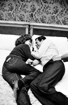 Sophia Loren and Marcello Mastroianni, 1963; I'd like this pic of ray and i :)
