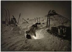 Rare photos of Antarctica in 1911. Winter quarters, Queen Mary Land.