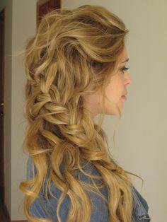Boho Hair, Wedding Hair. THIS WILL BE MY HAIR. I just died.