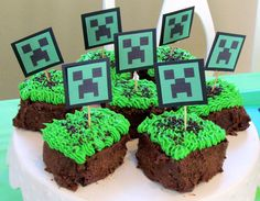 The Girl has declared that she would like to have a MineCraft themed party this year. Oh, my. This could be a lot of work.