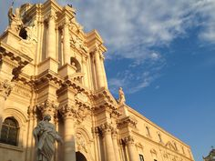 Cathedral Siracusa in the evening sun,  Sicily 2016