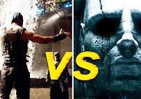 "Movies.com is pitting two of the most anticipated movies of the summer against each other in a mock final four showdown. Which movie would you prefer to see?; ""The Dark Knight Rises"" or ""Prometheus""."