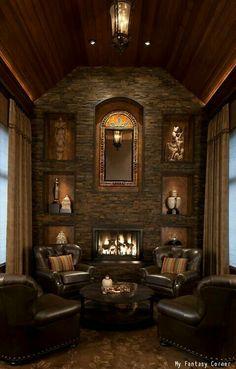 Perfect smoking room