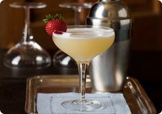 you could switch the pineapple for vanilla vodka for the holidays. #cocktails Driscoll's Barbary Flip Cocktail with Pineapple Vodka. | Driscolls.com @Driscoll's Berries