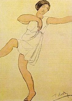 Auguste Rodin / Isadora Duncan, via Maria Wadsworth