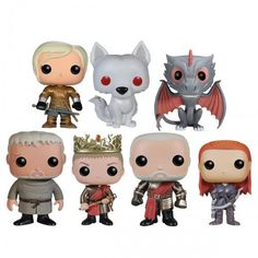 Game of Thrones Pop! Television Figurines, 3rd Edition [Set of 7]