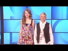 Memorable Monologue: CoverGirl Tips with Taylor Swift OK This is hilarious. I love her with Ellen.