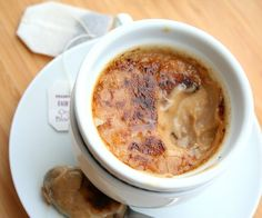 Chai Tea Creme Brulee (Low Carb and Gluten Free) this would be lovely for a rainy day in