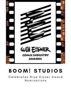 Boom! Studios Celebrates 2021 Eisner Award With Nine Nominations — Constant Collectible Best New Series, Power Rangers 1, Read Only Memory, Slaughterhouse Five, Usagi Yojimbo, Will Eisner, Boom Studios, Multimedia Artist, Viz Media