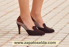 Orquídea zapatoselda 2014 #Shoes Kitten Heels, Pumps, Shoes, Fashion, Brand Name Shoes, Shoes Sandals, Over Knee Socks, Elegant, Women