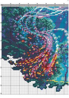 cross stitch pattern phoenix (4)